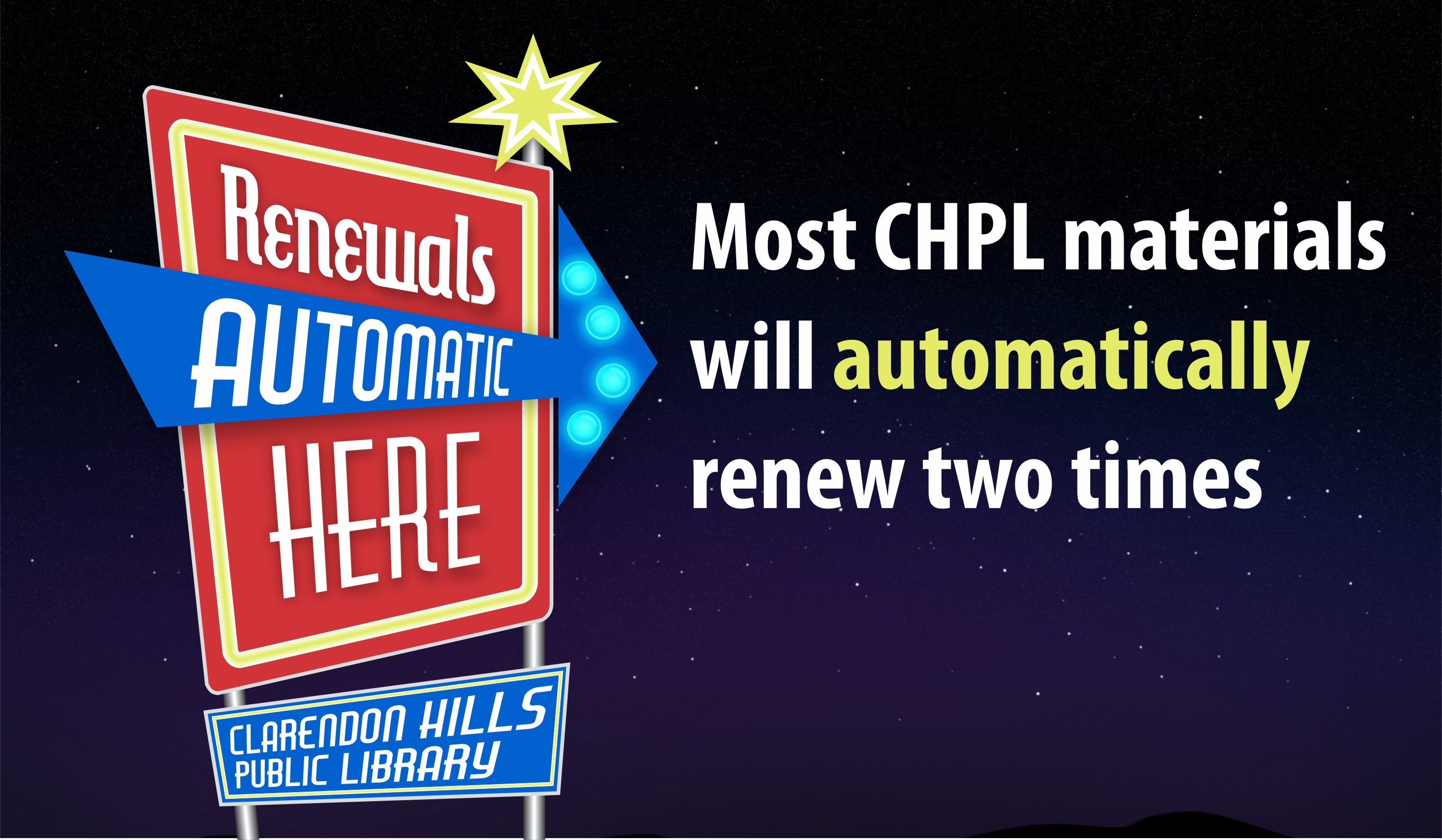 Auto Renewals Now at CHPL