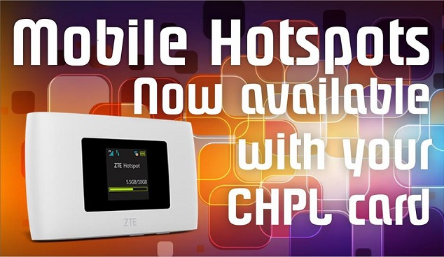 Check out a Mobile Hotspot!