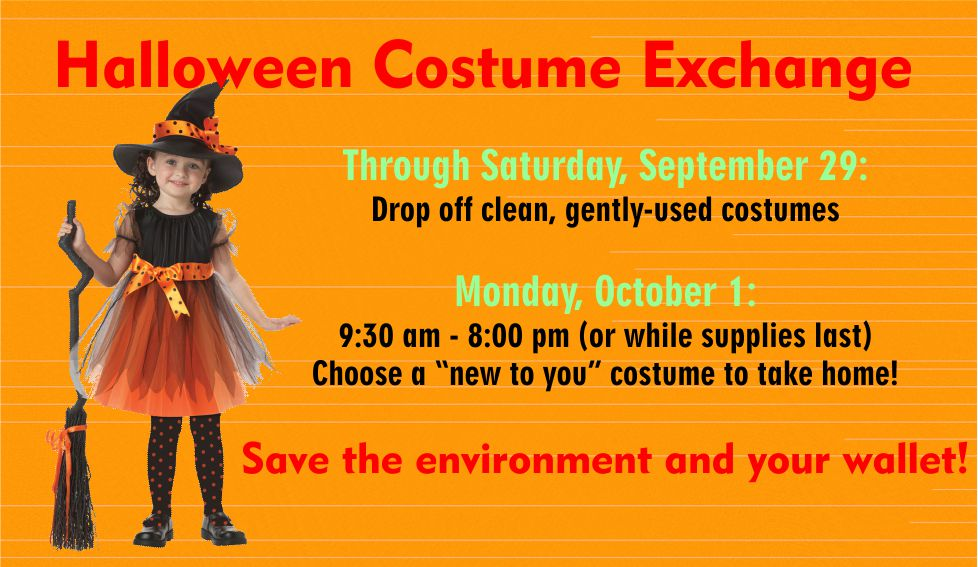 Have your kids outgrown their costumes?