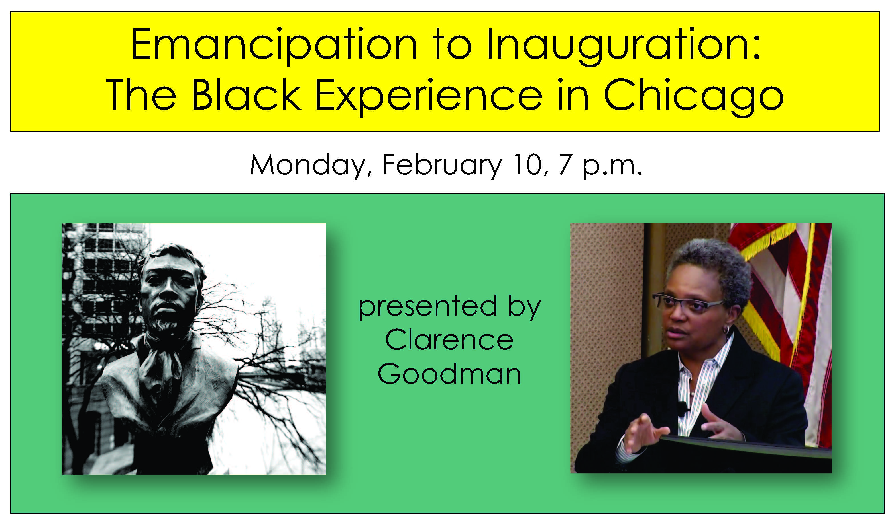 Learn about Chicago's Black History