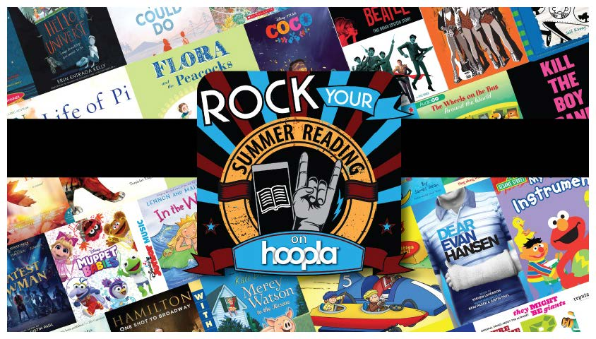Ebooks, Music, Audiobooks, Comics 24/7 on Hoopla!